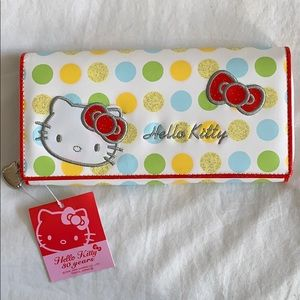 Hello Kitty wallet imported from Japan.